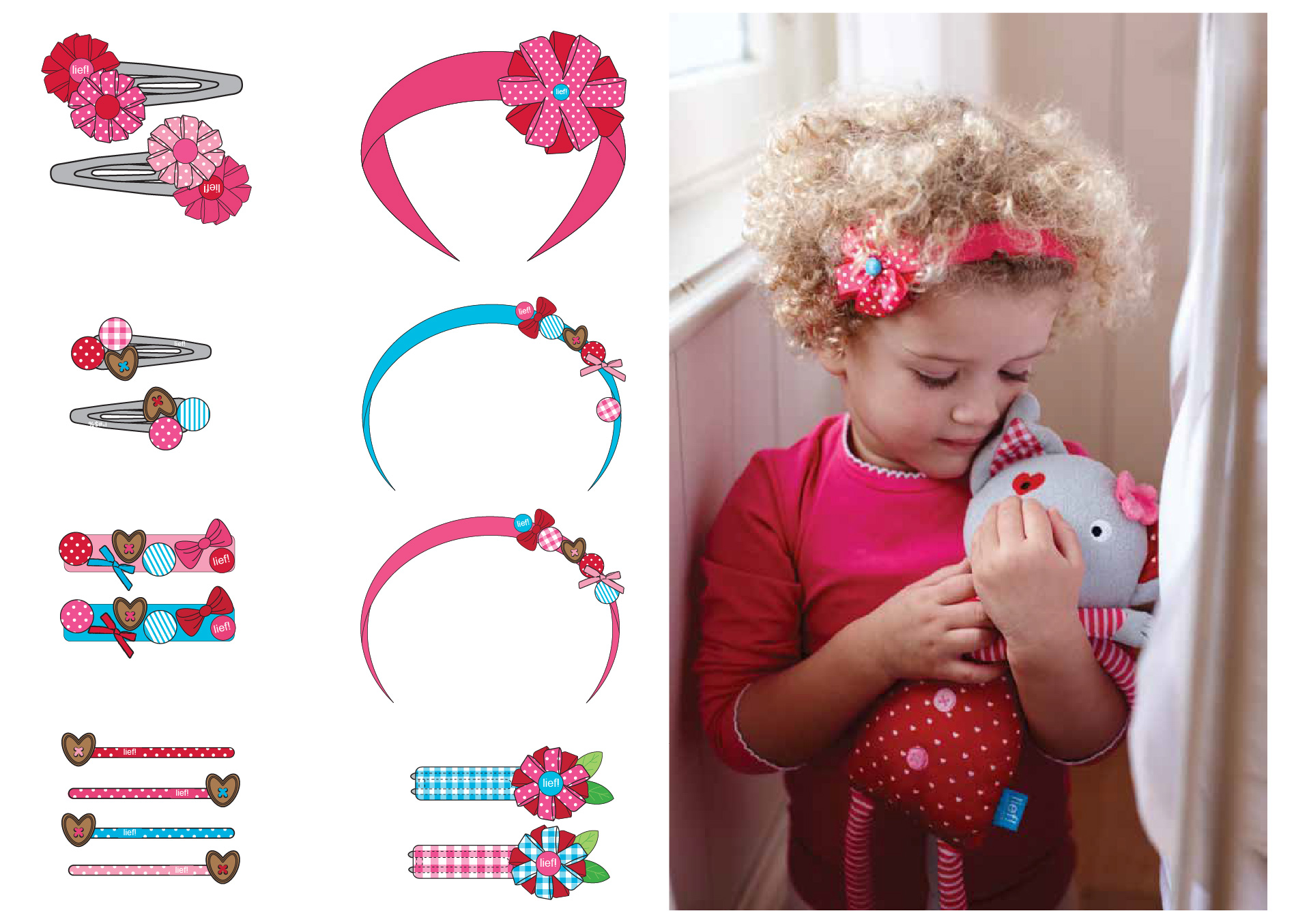 Hair accessories lief! lifestyle