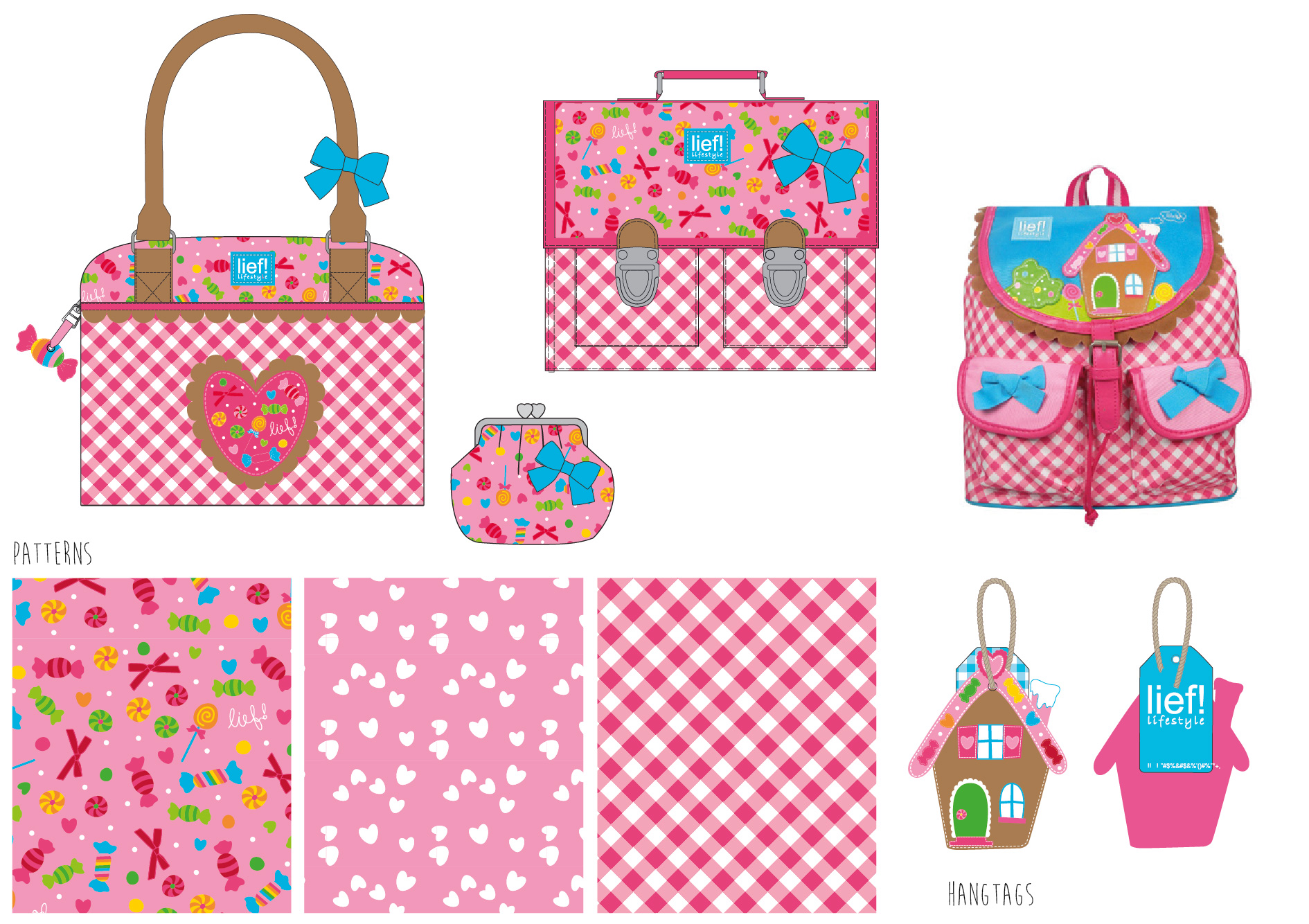 Girls bags lief! lifestyle