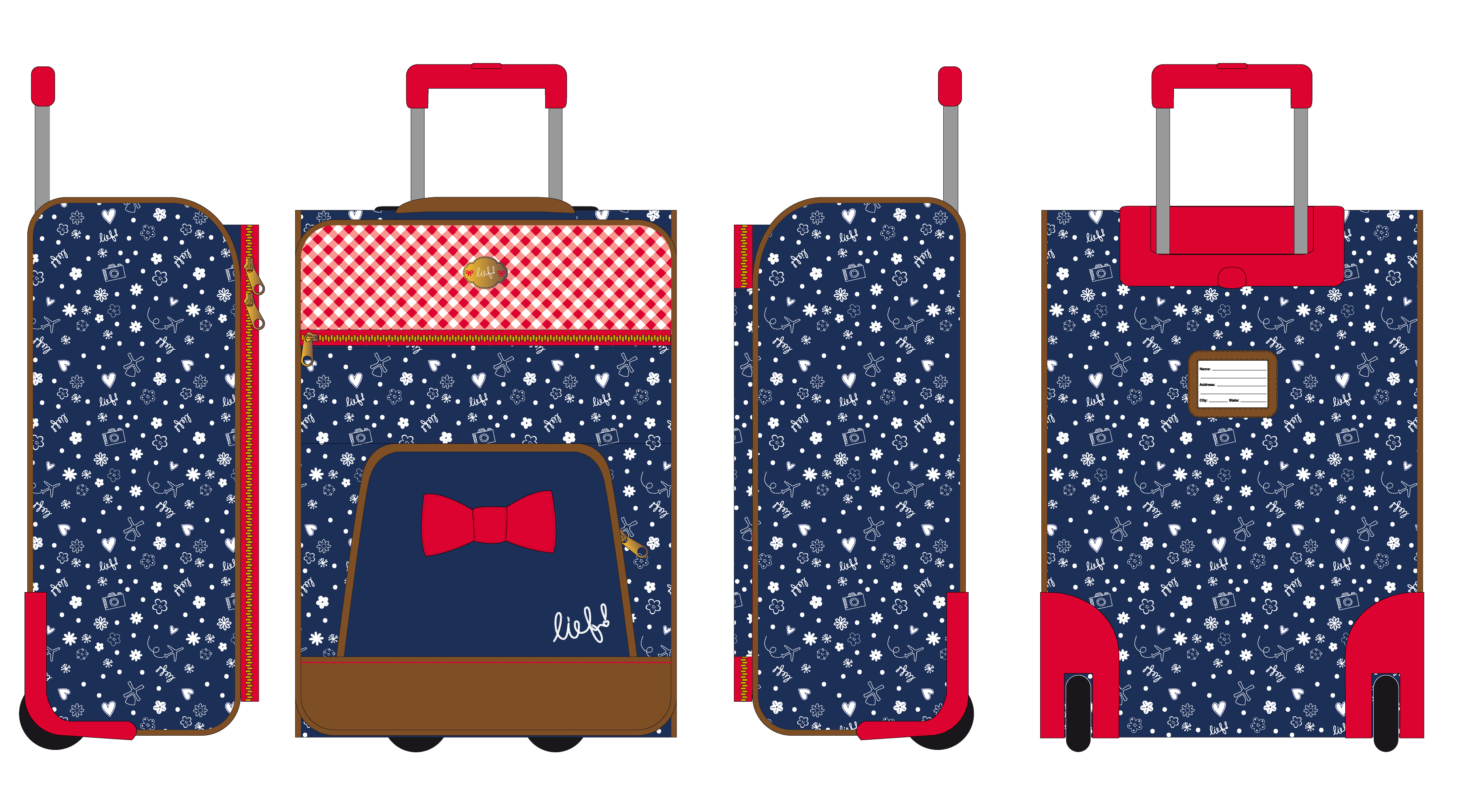Travel bags lief! lifestyle